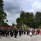 Orkiestra i Majoretki